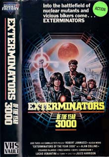 Exterminators Of The Year 3000 [VHS Vault]