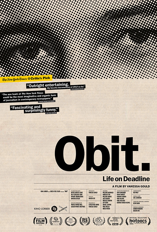 Obit. Life on Deadline