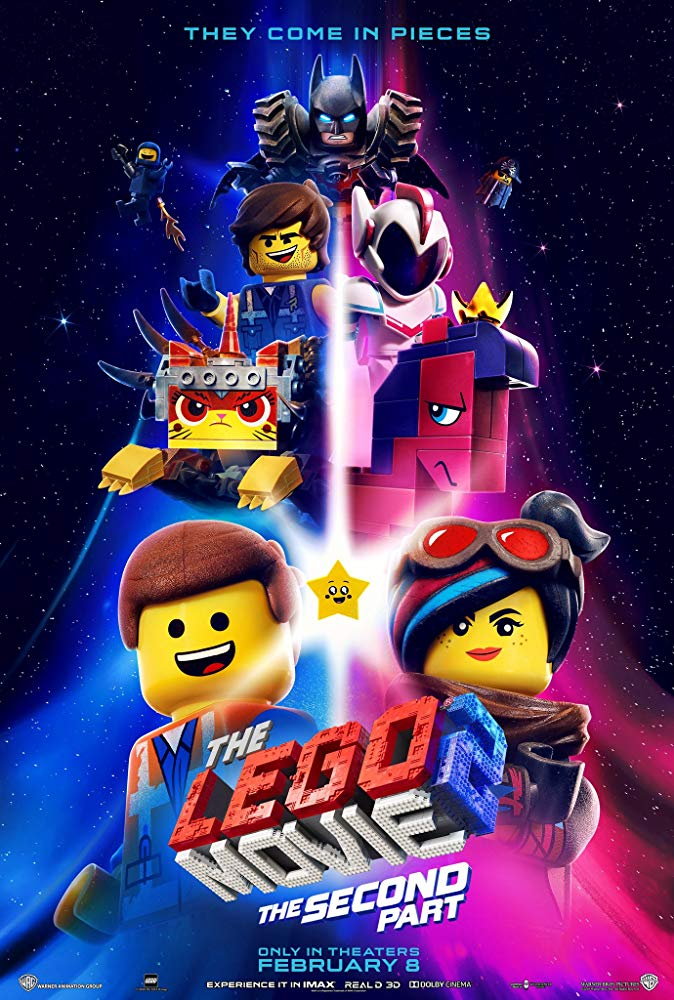 Poster image of The Lego Movie 2: The Second Part