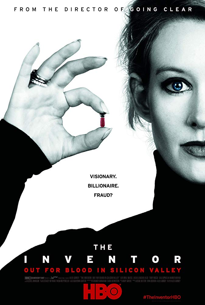 Poster image of The Inventor: Out for Blood in Silicon Valley