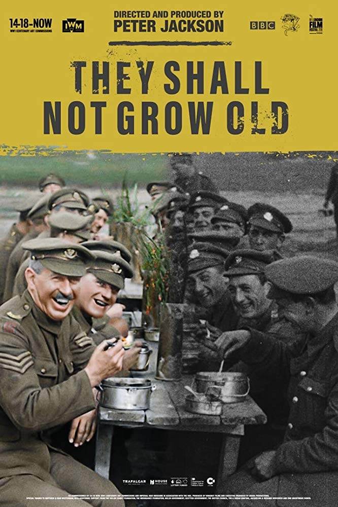 Poster image of They Shall Not Grow Old