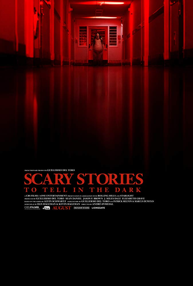 Poster image of Scary Stories to Tell in The Dark