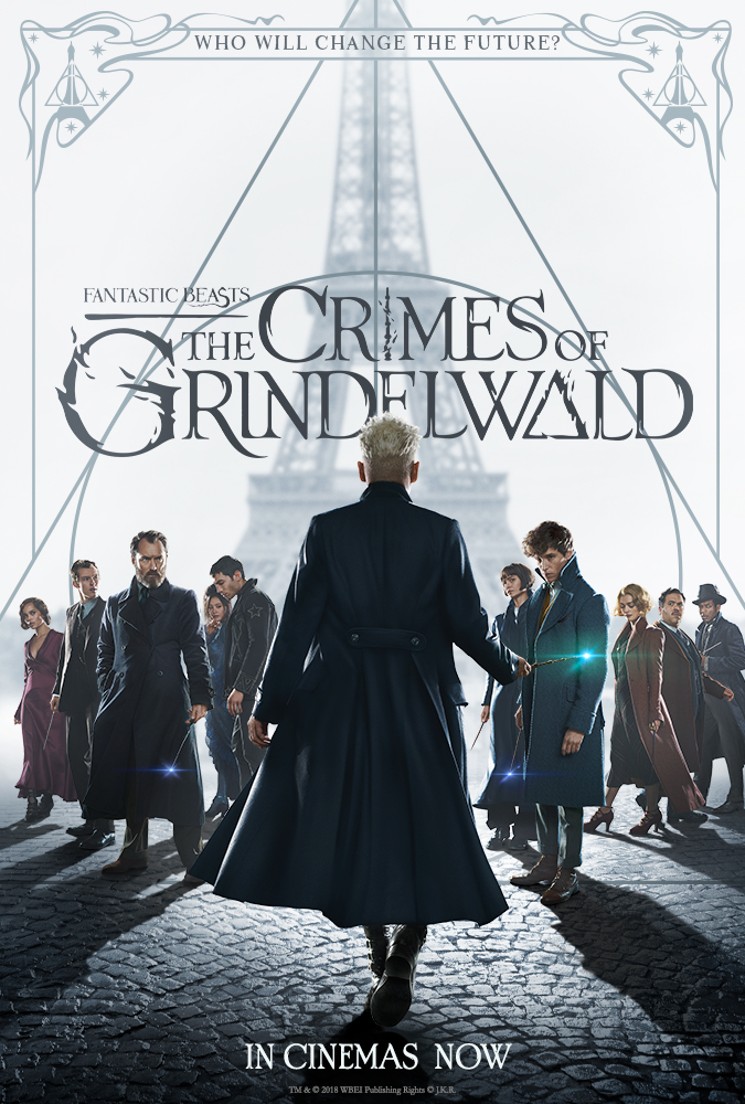 Poster image of Fantastic Beasts: The Crimes Of Grindelwald