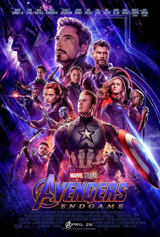 Poster image of Avengers Endgame