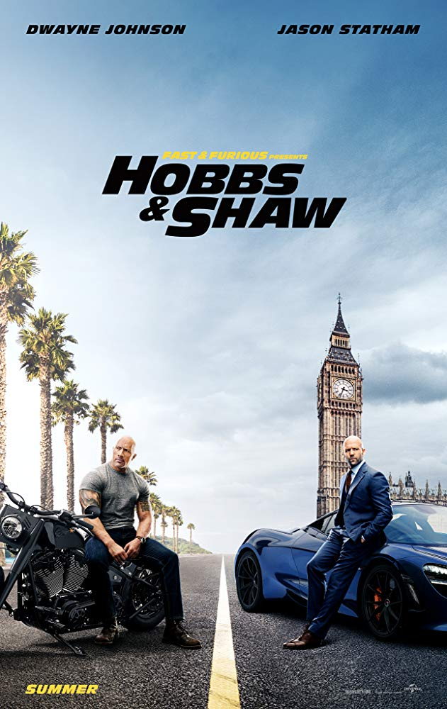 Poster image of Hobbs & Shaw