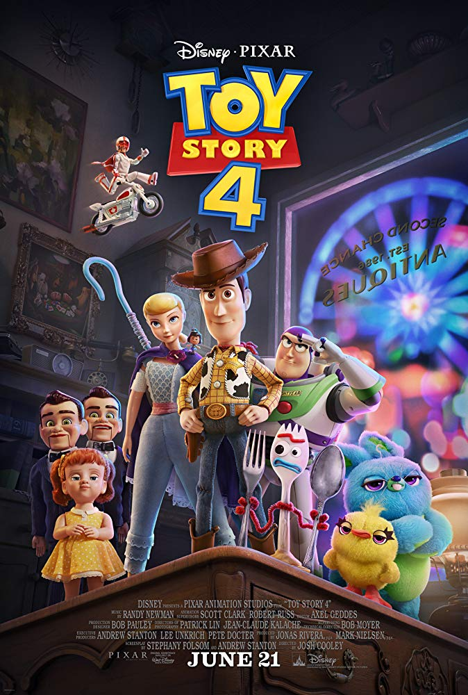 Poster image of Toy Story 4