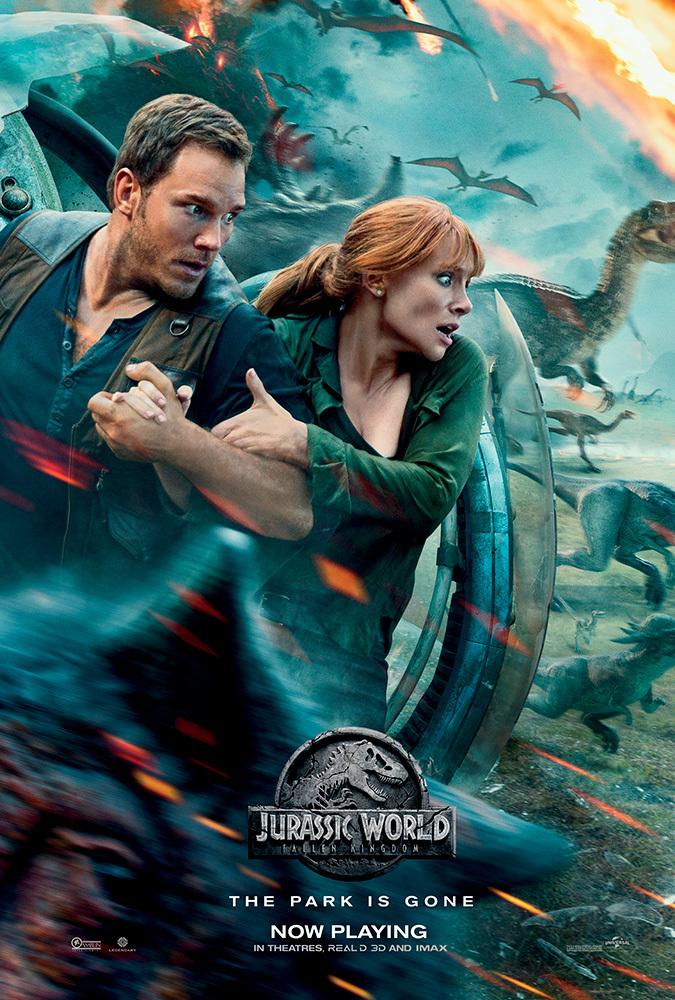 Poster image of Jurassic World: Fallen Kingdom