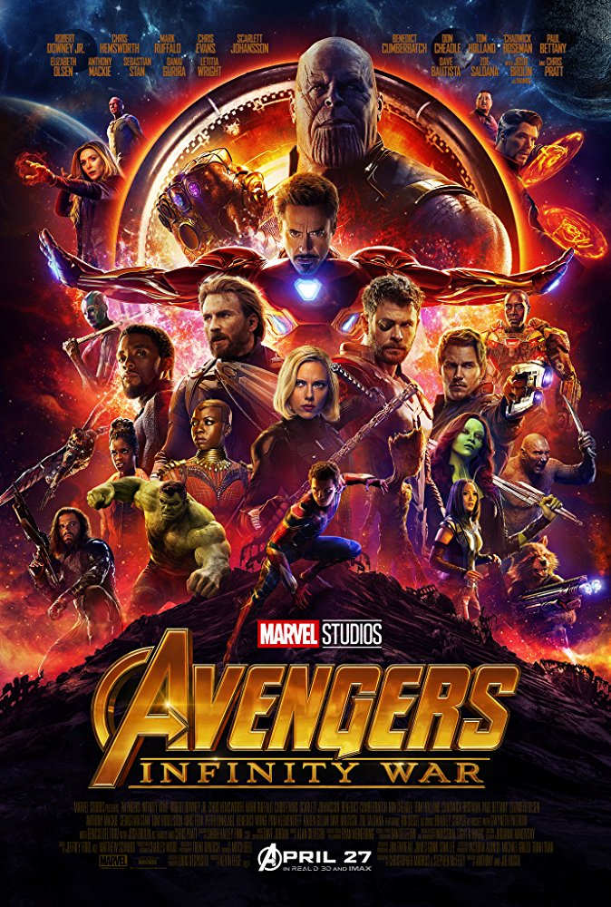 Poster image of Avengers Infinity War